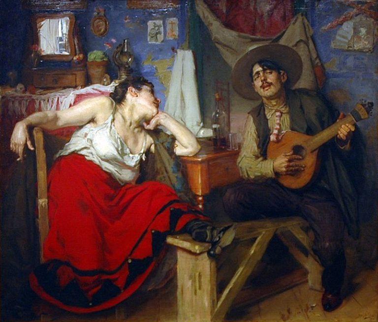 """""""O Fado"""" José Malhoa (1910)"""