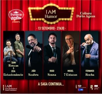 Frutorra apresenta I Am Humor A Saga Continua