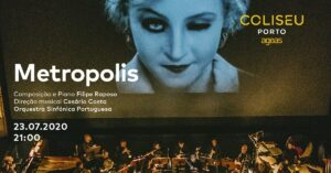 Metropolis Filme Concerto no Coliseu