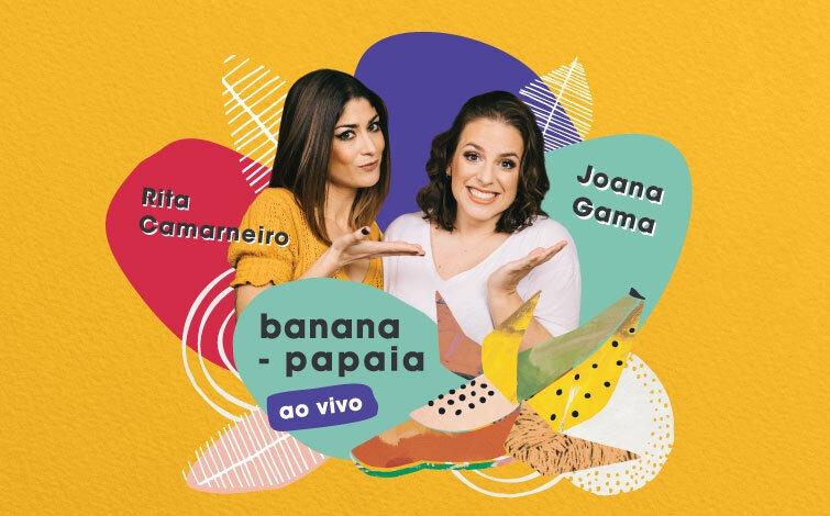 Banana-Papaia ao Vivo no Teatro Sá da Bandeira