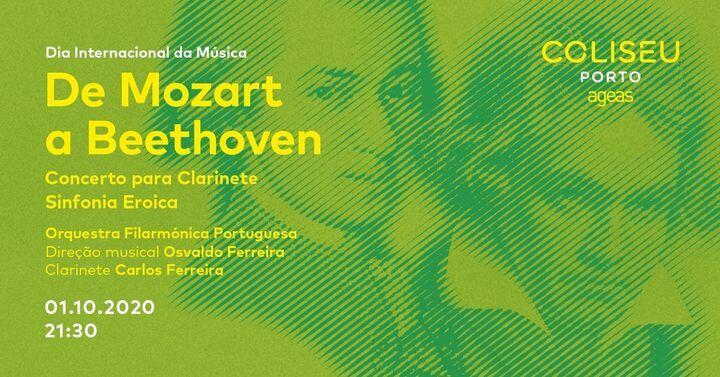 Coliseu celebra Dia Mundial da Música com Mozart e Beethoven