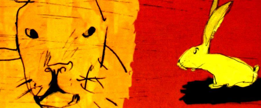 O Leão e o Coelho Santitão - teatro infantil