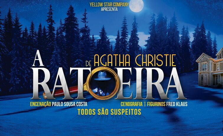 A Ratoeira de Agatha Christie no Coliseu do Porto