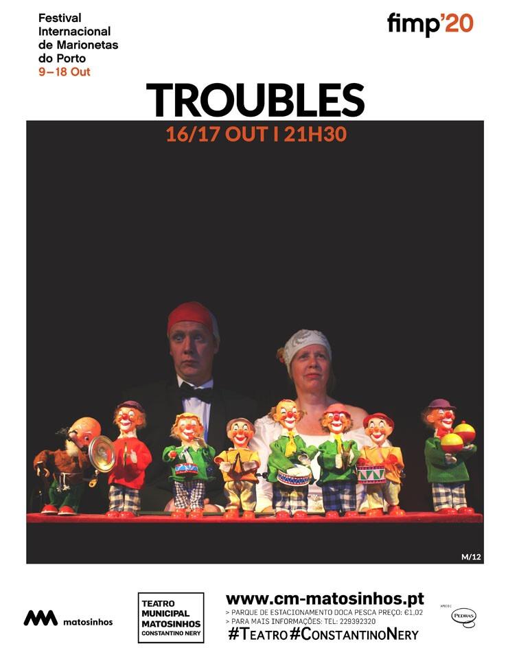 Troubles agenda Cultural Matosinhos