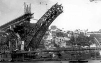 Ponte luis 1 e ponte pencil do porto